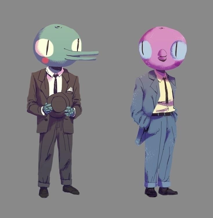 sketch, characterdesign - sergeygudkov | ello