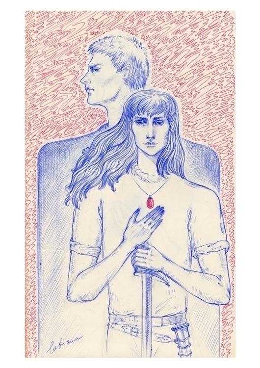 sword dream... (fan art Berserk - annaorca | ello