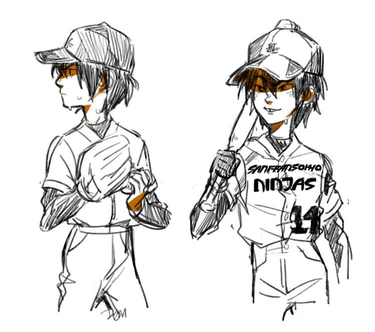 baseball, baseball - bighero6 - johnnybooboo | ello