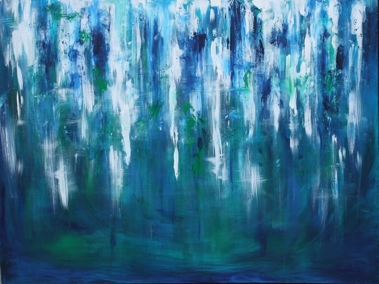 Tranquil . Acrylic Abstract - suzanne88   ello
