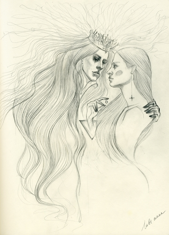 learn live nightmares - art, artwork - annaorca | ello