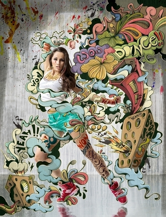 Dance Club Magazine. Cover illu - alexsander-1319   ello