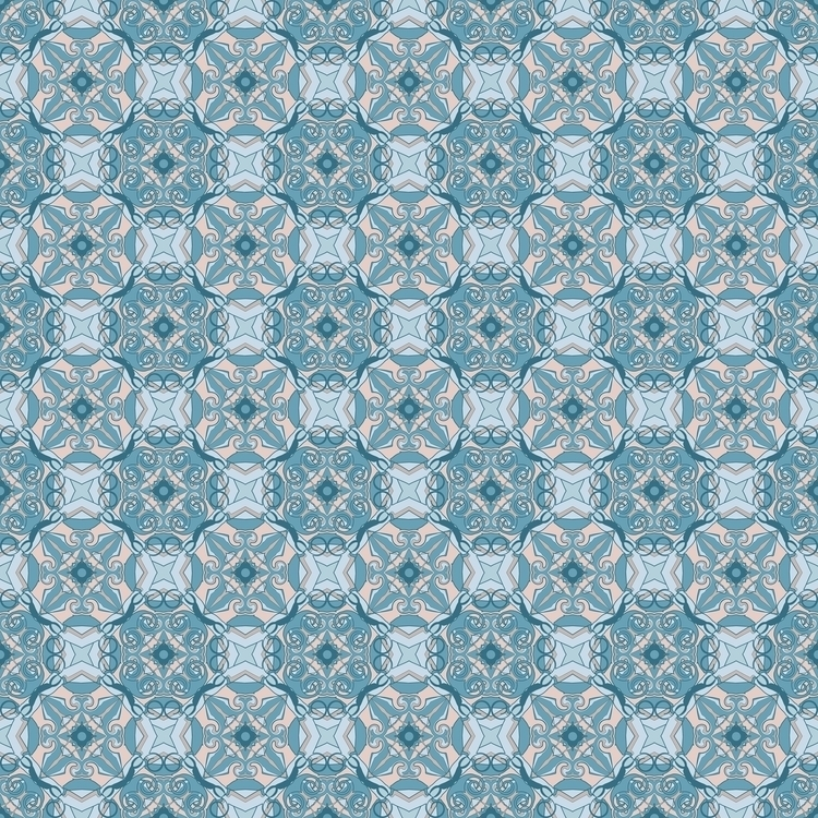Frozen geometric figures - pattern - gretaberlin   ello