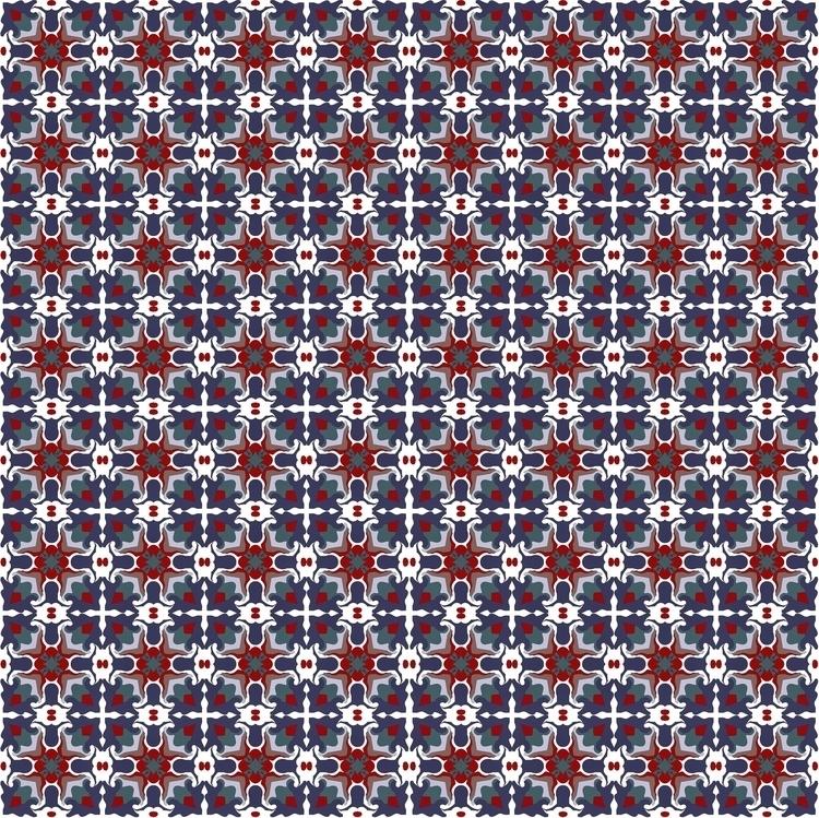 Bright blue red crystals - crystal - gretaberlin | ello