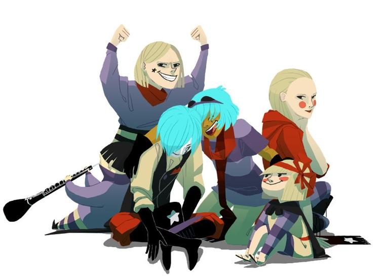 jolly troupe orphans - conceptart - scookart | ello