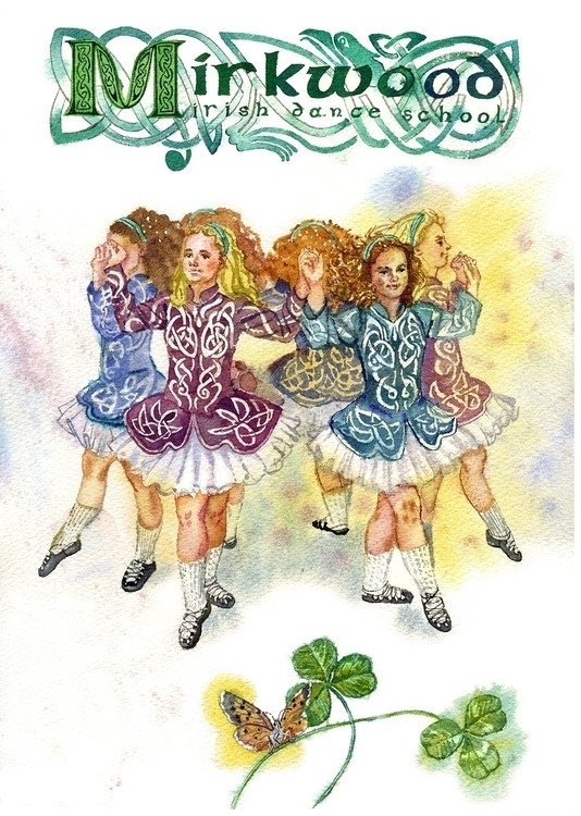 card Mirkwood irish dance schoo - naktisart | ello