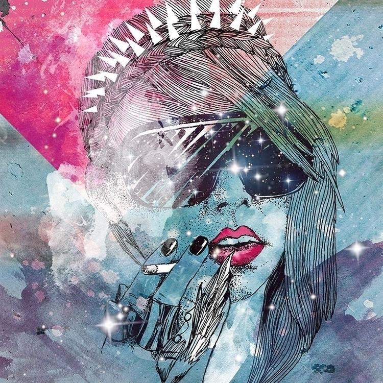 Cigarette / Design 2013 - illustration - karolina-4327 | ello