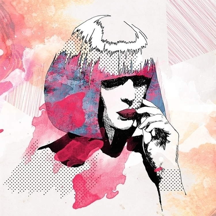 Pink / Design 2012 - illustration - karolina-4327   ello