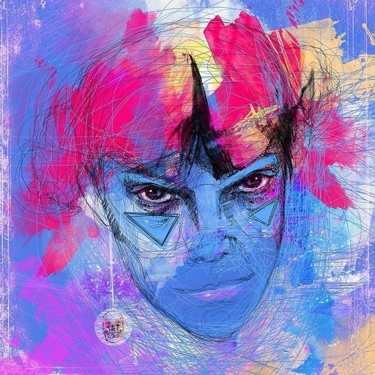 Blue / Design 2014 - illustration - karolina-4327 | ello