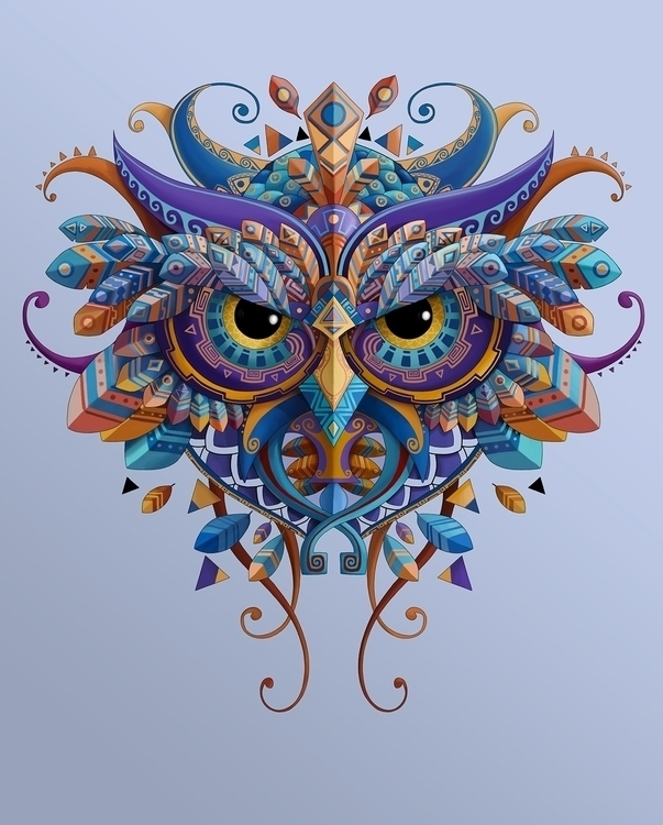 OWL - graphicdesign, illustration - juanco-1165 | ello