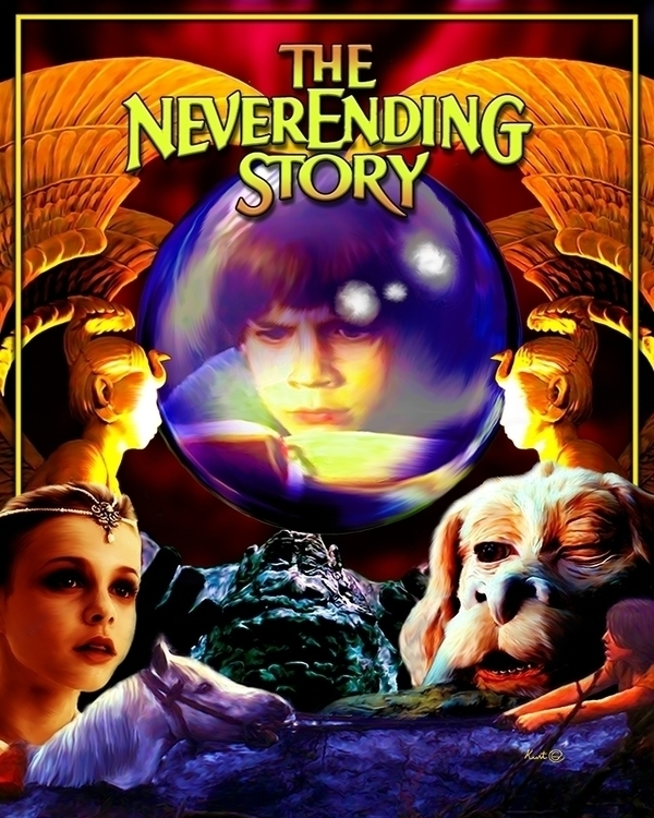 Fan Art movie NeverEnding Story - kurtg_art | ello