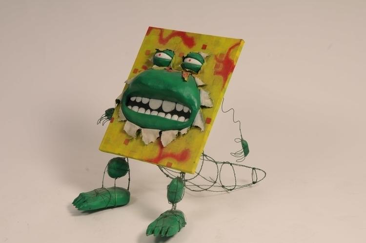 Monster comming painting - figurine - smouss | ello