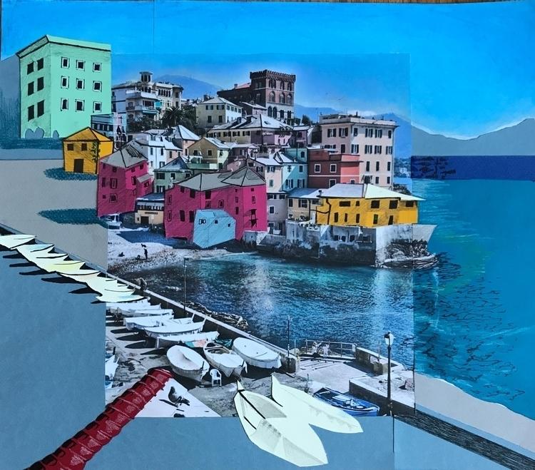 papercutout, collageart, mixedmedia - whitneysanford | ello