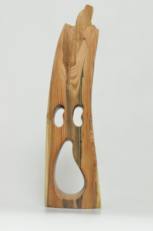 Wooden Face - figurine, wood, sculpture - smouss   ello