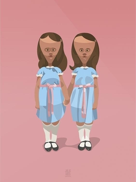 Los niños turbietes shining - #theshining#Twins#elresplandor#art#arte#digitalart#draw#drawing#follow#children#creepy#kids#niñosturbietes#niños#himpericia#ilustration#Illustrator#ilustracióndigital#ilustración#juliorios#salamanca#vector#dibujo#diseño#valladolid#design#gradytwins#overlook#overlookhotel#redrum - juliorios | ello