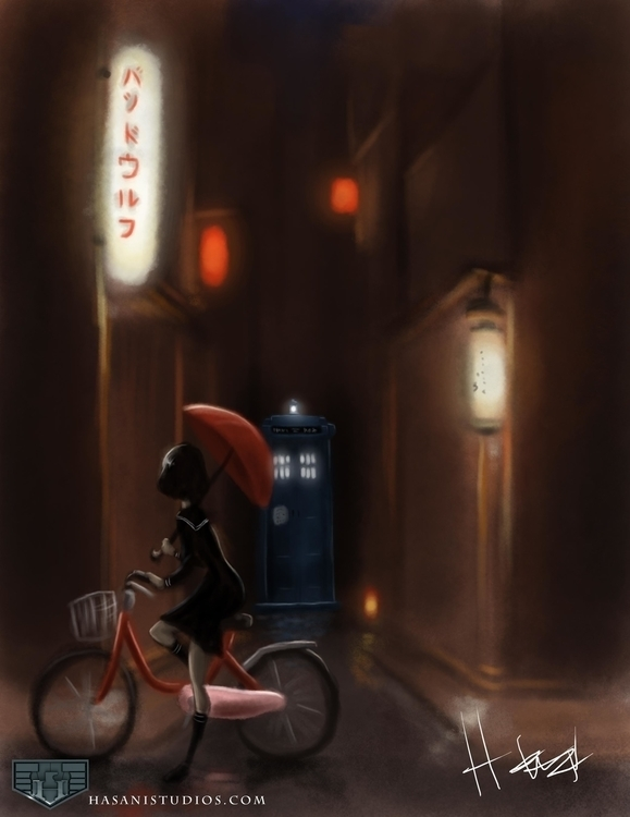 Prepare adventure - DoctorWho, illustration - hasaniwalker | ello