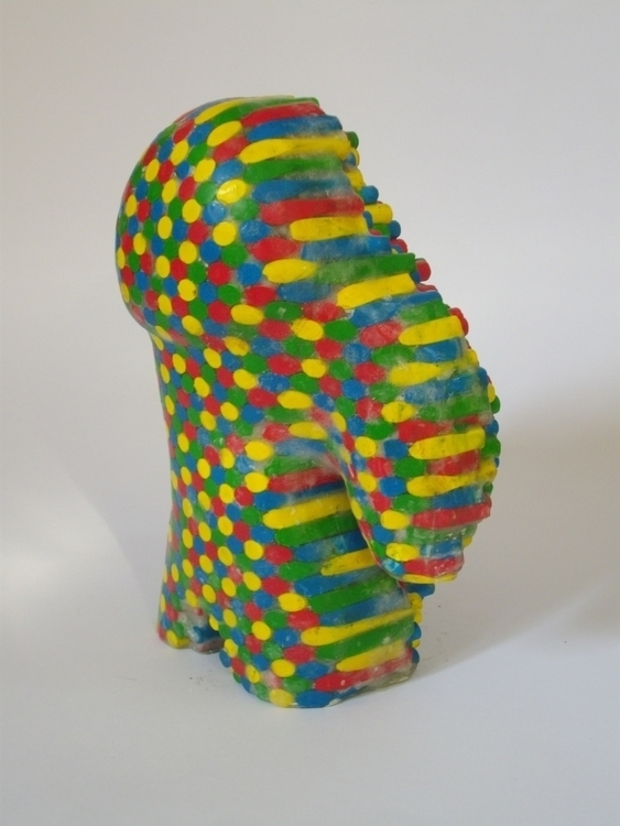 Chromatic Golem - figurine, sculpture - smouss | ello