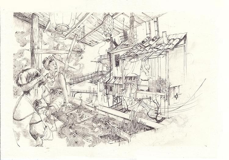 illustration, comics, comic, character - thomke-9244 | ello