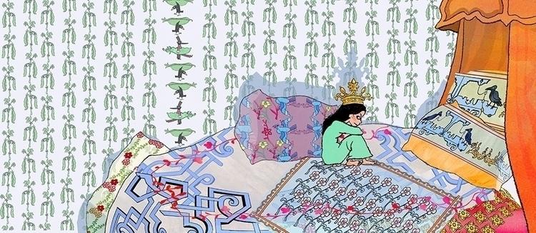 De prinses op de erwt - illustration - janjutte   ello