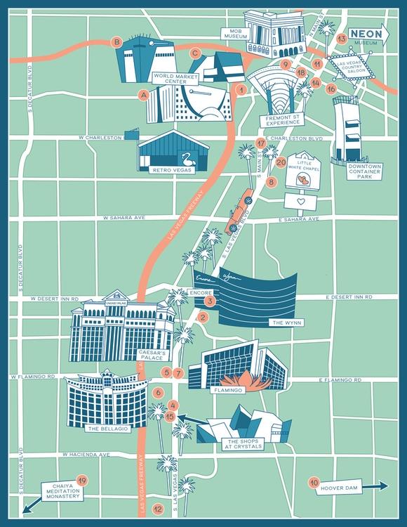 Las Vegas Furniture Market Map  - christinaluka | ello