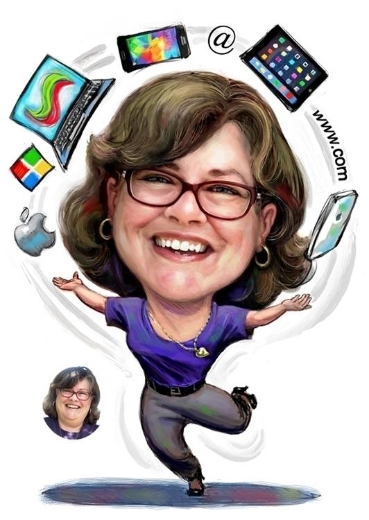 Mobile Social Media Expert - illustration - doritart | ello