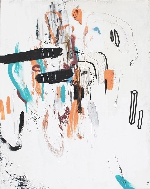 Hail - art, painting, contemporarypainting - kimbogruff   ello