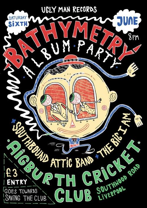 Gig Poster: Bathymetry Album La - tony_jayco | ello