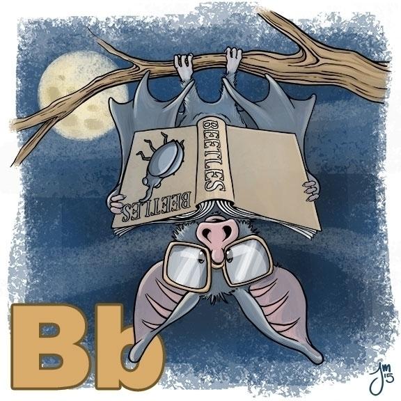 Bat Branch Bifocals reading Boo - jasonmartin-1263 | ello