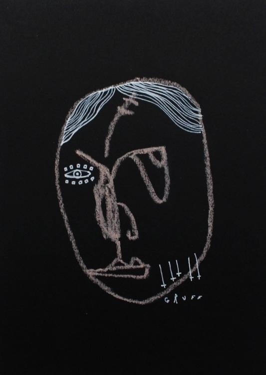 Gruff - art, drawing, artistsonnabaroo - kimbogruff | ello