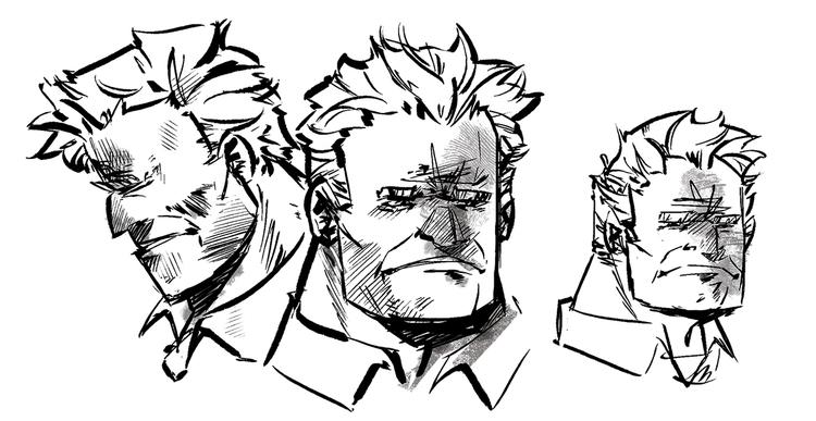 character sketches started figu - omniopticon | ello