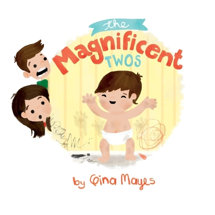 Book Cover - illustration, kidlitart - ginamayes | ello
