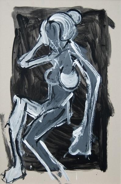 Act 5, 100x70 cm, acrylic cardb - vuja90 | ello