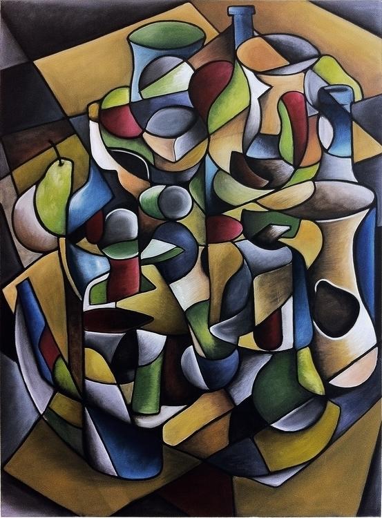 Oil painting - crankyme | ello