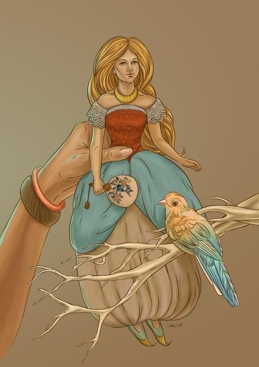 Personal illustration. picture  - milayavredina | ello