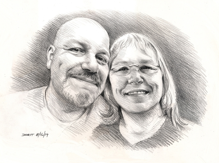 pencildrawing, portraiture - doritart   ello