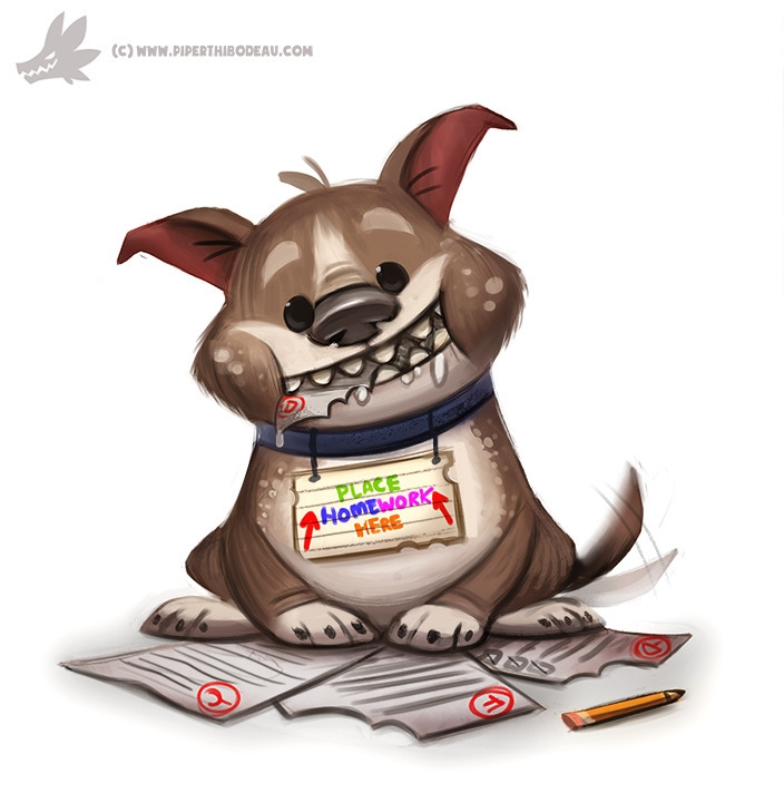 Daily Paint Homework Shredder - 1022. - piperthibodeau | ello