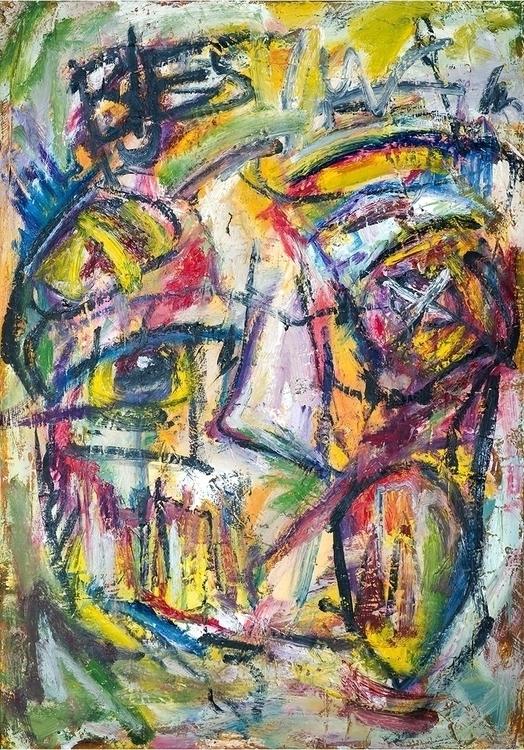Expressive portrait 4, 100x80 c - vuja90 | ello