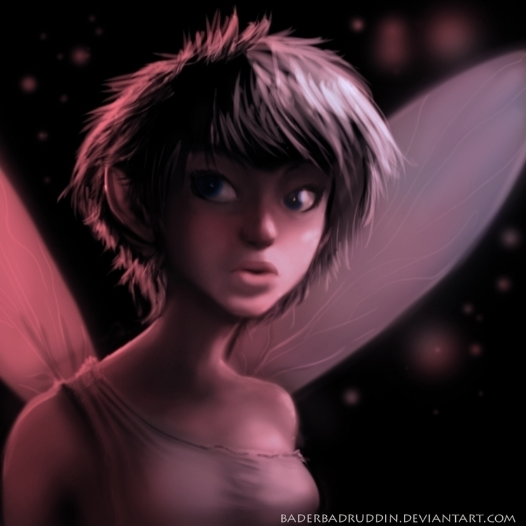 Fairy - fairy, girl, digitalpainting - bader-3010 | ello