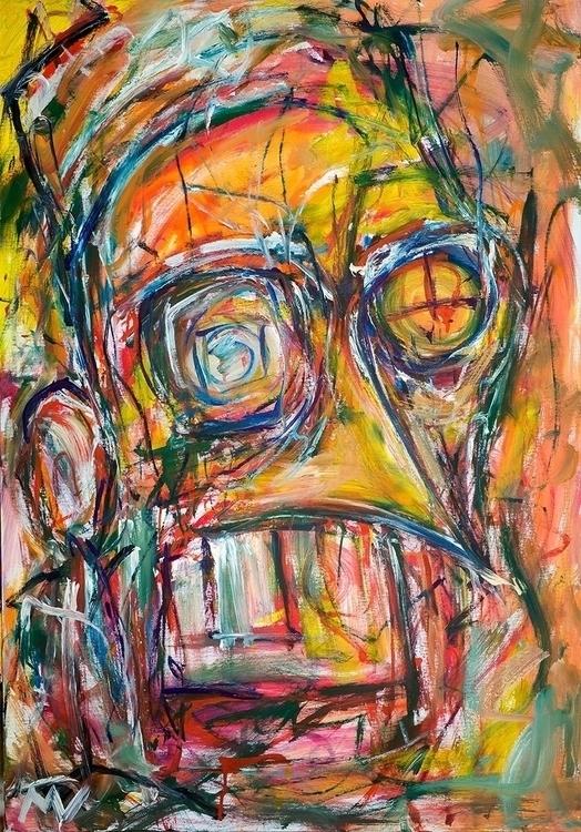 Expressive portrait 2, 100x80 c - vuja90 | ello