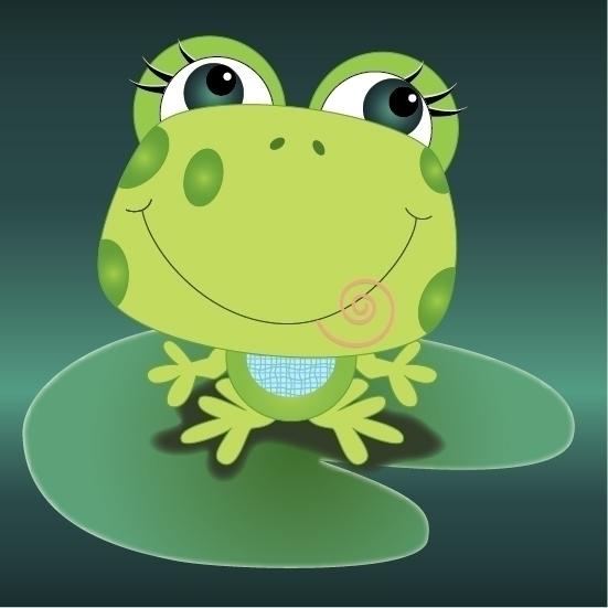 Froggie - Frog,LilyPad,Pond, - kvoerg | ello