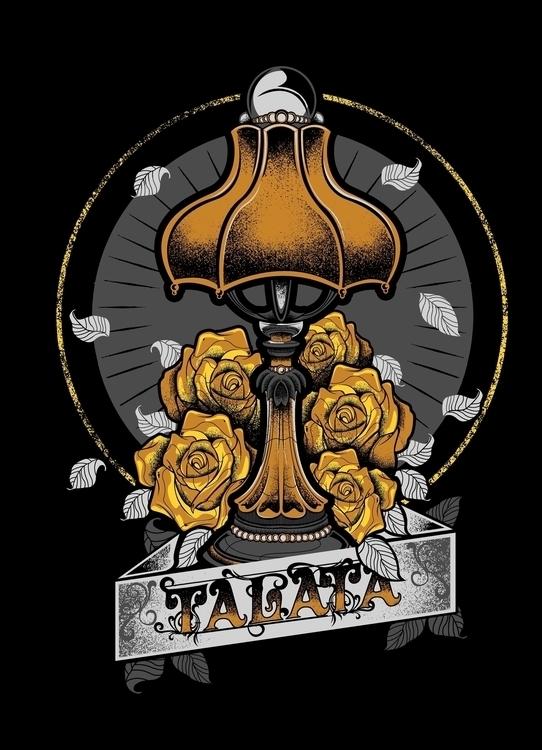 FLORAL LAMP DESIGN TALATA BAND  - mattaguinaldo | ello