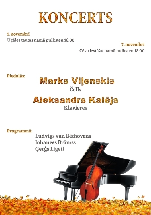 poster local music evening even - ausmakalnina | ello
