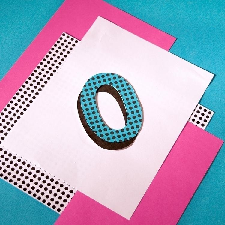 typography, 36daysoftype, collage - katiecoughlan | ello