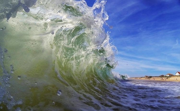Summer Shorebreak - wave, shorebreak - kreatox | ello