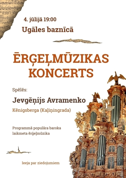 music event local church poster - ausmakalnina | ello