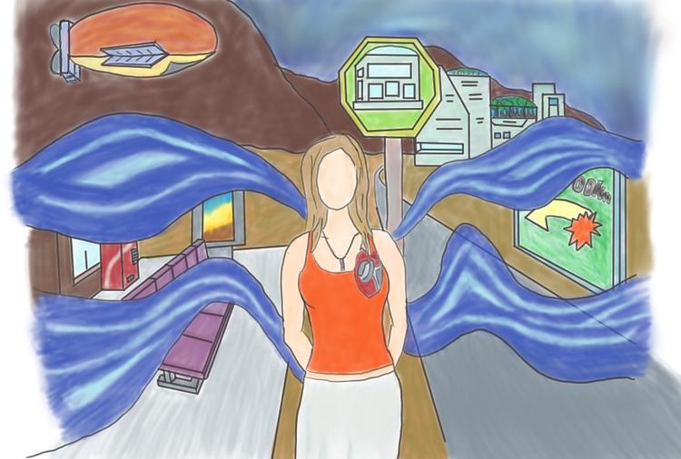 City Mural - illustration, painting - mauriciofreeze   ello
