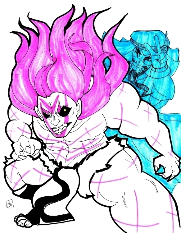 Personal fan art sketch Rashid  - tofuplusbeast | ello