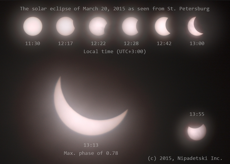 solar eclipse March 20, 2015 - punpcklbw | ello