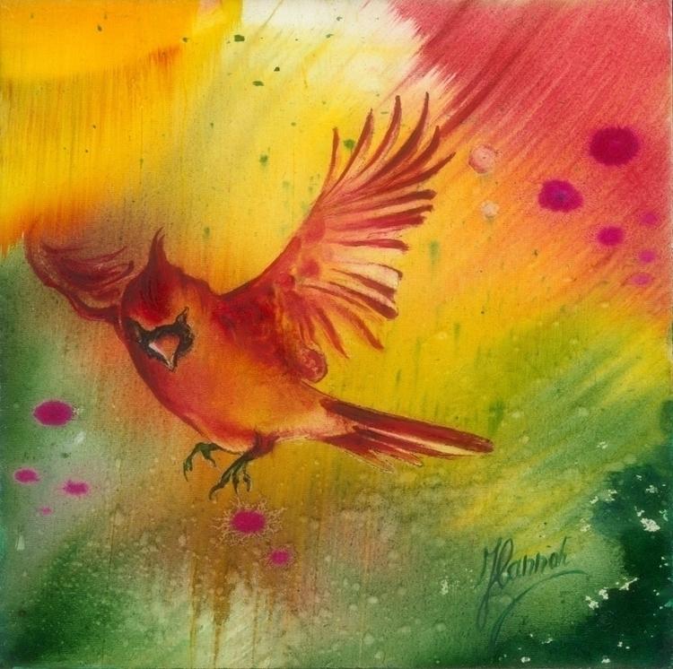 Sun Dance - Garden Joy original - annahannahart | ello