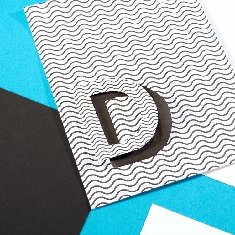 36daysoftype, typography, collage - katiecoughlan   ello
